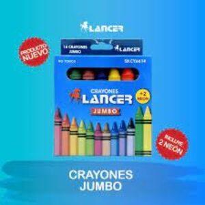 Crayón Lancer jumbo 6614