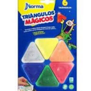 Crayón Norma triángulos mágicos